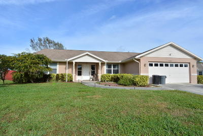 Port Saint Lucie Single Family Home For Sale: 1691 SW Wende Lane