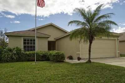Stuart FL Single Family Home For Sale: $280,000