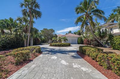Lantana Single Family Home Contingent: 601 S Atlantic Drive