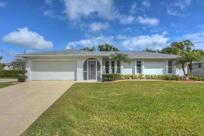 Port Saint Lucie Single Family Home For Sale: 801 SE Starflower Avenue