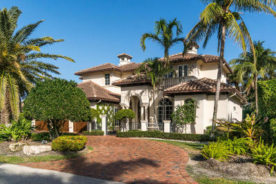 Boca Raton Single Family Home For Sale: 1824 Sabal Palm Drive