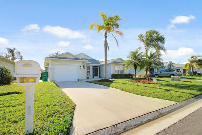 Fort Pierce Single Family Home For Sale: 5912 Foxtail Way