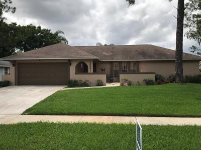 Wellington Single Family Home For Sale: 13941 Aster Avenue