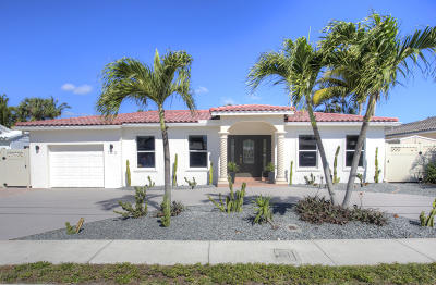 Fort Lauderdale Single Family Home For Sale: 1313 Mango Isle Isle(S)