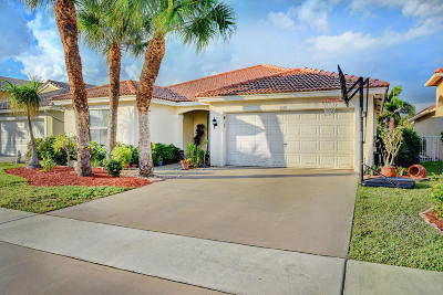 Lake Worth Single Family Home For Sale: 5150 Prairie Dunes Village Circle