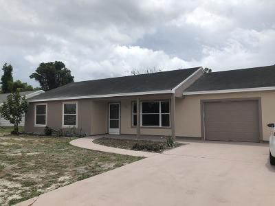 Martin County Single Family Home For Sale: 1124 E 14th Street