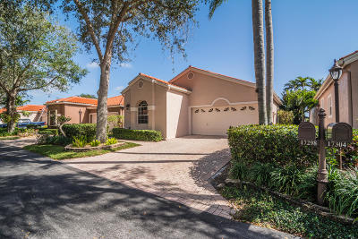 Boca Raton Single Family Home Contingent: 17298 Antigua Point Way