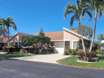 Boca Raton Single Family Home For Sale: 8203 Summerbreeze Lane