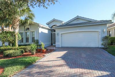 Lake Worth Single Family Home For Sale: 8210 Sandpiper Glen Drive
