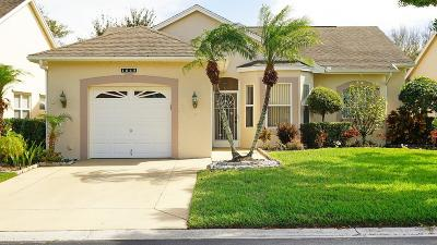 Port Saint Lucie Single Family Home For Sale: 1048 NW Tuscany Drive
