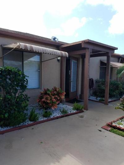 Delray Beach Single Family Home For Sale: 14868 Wildflower Lane #14868