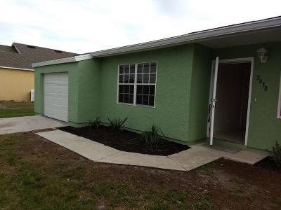 Port Saint Lucie Single Family Home For Sale: 2638 SE Melaleuca Boulevard