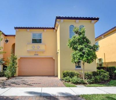 Palm Beach Gardens Townhouse For Sale: 4542 Mediterranean Circle