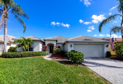 Port Saint Lucie Single Family Home For Sale: 529 NW Waverly Circle