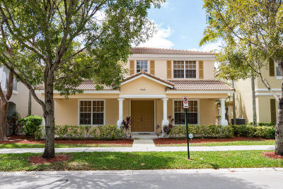 Delray Beach Single Family Home For Sale: 4528 Highgate Drive