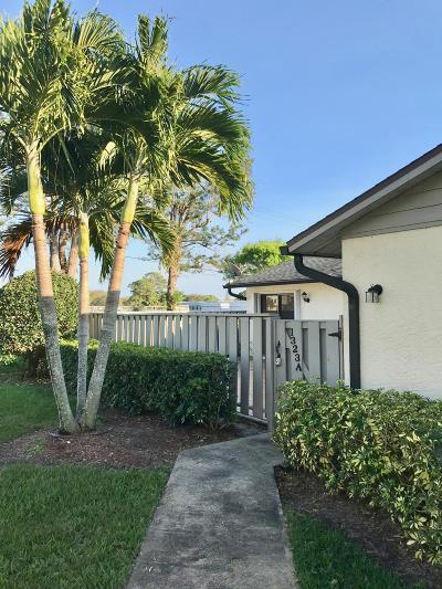 Fort Pierce Single Family Home For Sale: 1323 Peppertree Trail #A