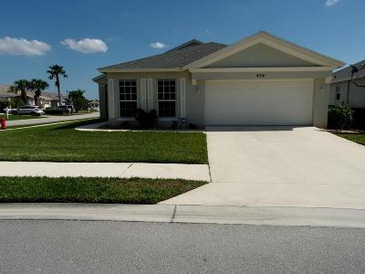Port Saint Lucie Single Family Home For Sale: 434 SW Talquin Lane