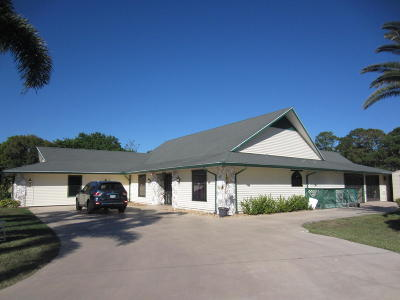 Fort Pierce Single Family Home Contingent: 5706 Palmetto Drive