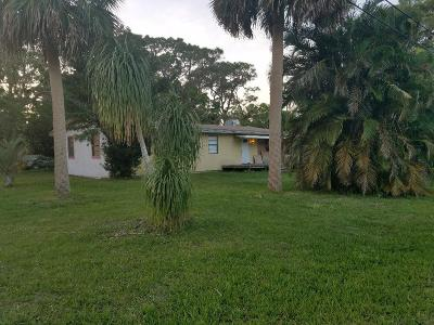 Fort Pierce Single Family Home For Sale: 3299 Lewis Street