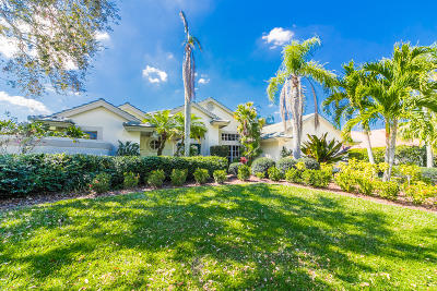 Palm City Single Family Home Contingent: 761 SW Lighthouse Drive