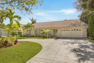 Jupiter FL Single Family Home For Sale: $399,000