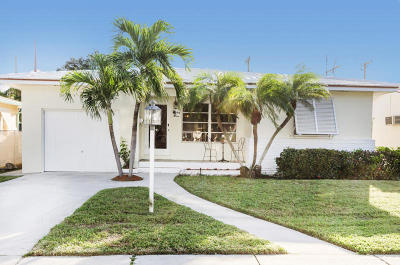 Lake Worth Single Family Home For Sale: 910 Palmway