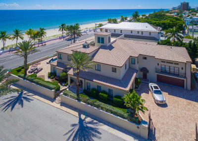 Fort Lauderdale Single Family Home For Sale: 1717 Fort Lauderdale Beach Boulevard