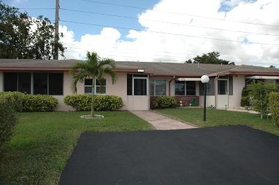 Delray Beach Single Family Home For Sale: 14275 Campanelli Drive