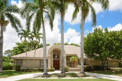 Boca Raton Single Family Home For Sale: 4905 Oxford Circle