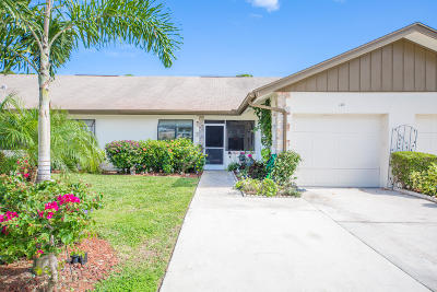 Jupiter Townhouse For Sale: 173 Bent Arrow Drive