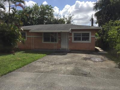 Fort Lauderdale Single Family Home Contingent: 2866 NW 9th Court