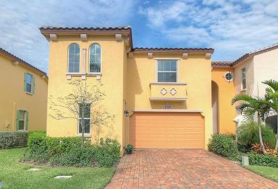 Palm Beach Gardens Townhouse For Sale: 4541 Mediterranean Circle