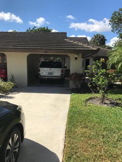 Boynton Beach Single Family Home For Sale: 10101 Marwood Place