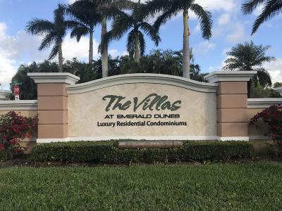 West Palm Beach Condo For Sale: 6458 Emerald Dunes Drive #201