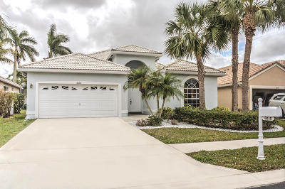 Lake Worth Single Family Home Contingent: 6030 Newport Village Way