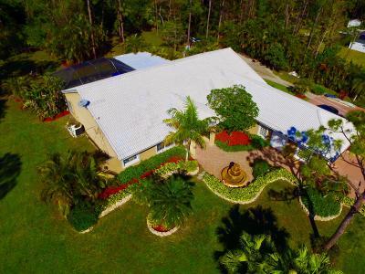 Loxahatchee Single Family Home For Sale: 16439 81st Lane