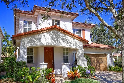 Palm Beach Gardens Single Family Home For Sale: 481 Leaf Drive