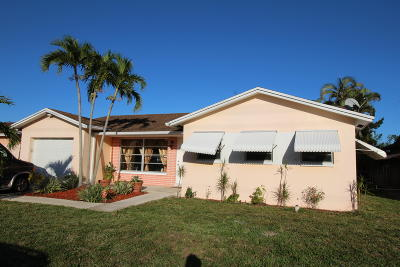 Boca Raton Single Family Home Contingent: 22458 SW 66th Avenue