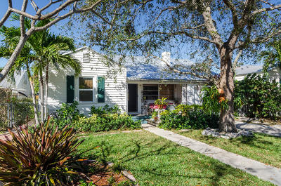 Lake Worth Single Family Home For Sale: 1517 Palmway