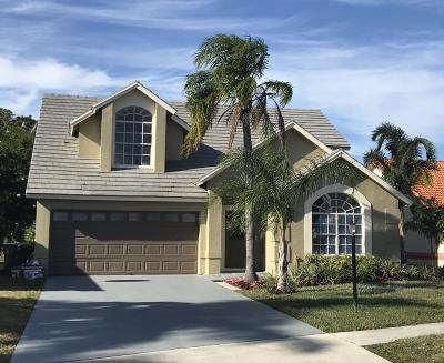 Wellington Single Family Home For Sale: 12673 White Coral Drive