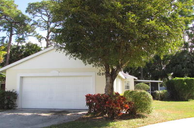 West Palm Beach Single Family Home For Sale: 1286 Slash Pine Circle