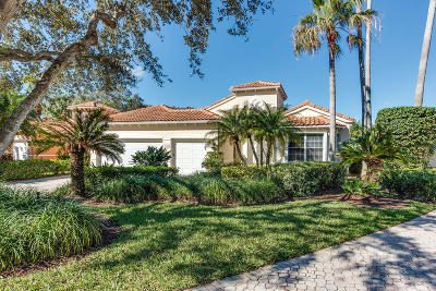 Jupiter Single Family Home For Sale: 3818 Outlook Court