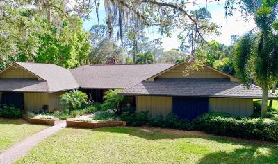 Vero Beach Single Family Home Contingent: 8155 25th Street