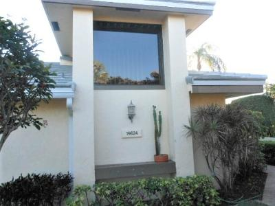 Boca Raton Single Family Home For Sale: 19624 Planters Point Drive