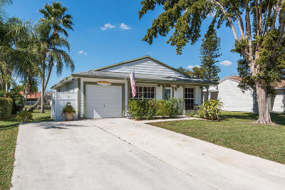 Boynton Beach Single Family Home For Sale: 5384 Courtney Circle
