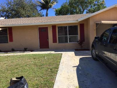 Boynton Beach Single Family Home For Sale: 7108 Glenwood Drive