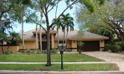 Boca Raton Single Family Home For Sale: 10760 Avenida Santa Ana