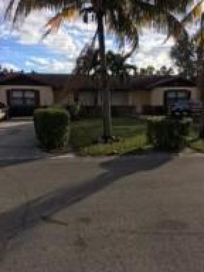 West Palm Beach Multi Family Home For Sale: 5246 Norma Elaine Road