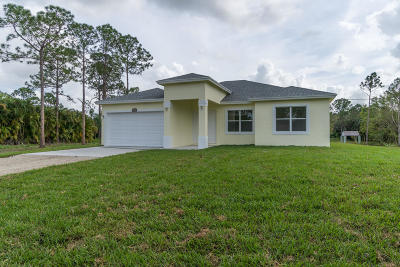 Loxahatchee Single Family Home For Sale: 17604 64th Place