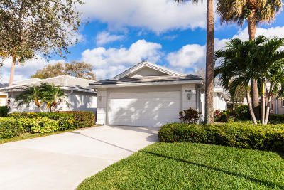 Palm Beach Gardens Townhouse For Sale: 4101 Old Oak Drive